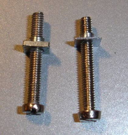 Original and modified nut