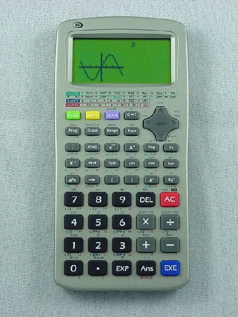 how to put a variable in a scientific calculator