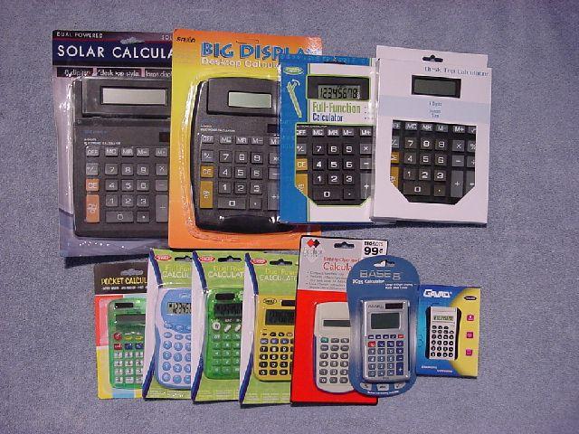 Dollar Calculators