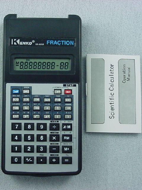 Sub-Five Dollar Scientific Calculators - Kenko KK-82LB