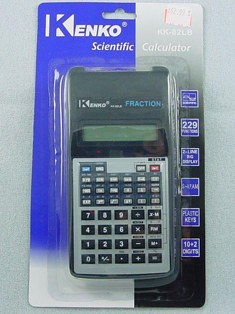 """Calculators kenko kk-82ms 2. 5"""" screen 11-digits function."""