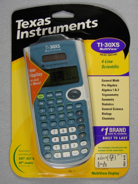 Texas ti-30x iis manual.
